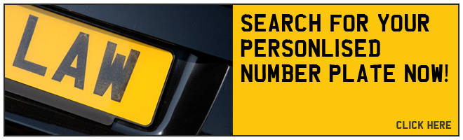 Personalised number plate search