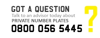 Buy Private Number Plates